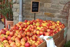 Äpfel Marktscheune
